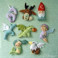 dragon, unicorn, mermaid...