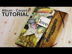 Tutorial: Álbum Carpeta / Folio Folder Album - YouTube