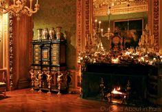 Inside Castles, Vaux Le Vicomte, Baroque Design, Palaces, Versailles, Nifty, Buildings, Christmas Decorations, Gardens