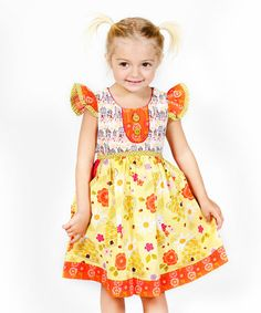 Love this Yellow Bee Sweet Riley Dress - Infant, Toddler & Girls on #zulily! #zulilyfinds
