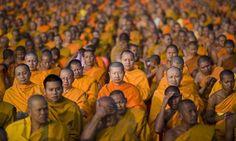 Thai Buddhist monks.