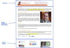 Ejemplo práctico de página estática de un blog sin barra lateral