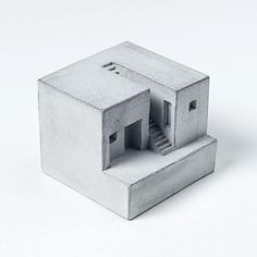 These miniature concrete homes by @material.immaterial are the perfect minimal addition to your living space. #goodmorning #monday #minimal #design #concrete #concretedesign #concreteart #interiordesign #interior #mumbai #collectibles #brutalistarchitecture #miniature #architecture #miniart