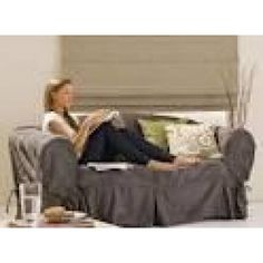 Lincraft Suede Couch Cover-Arm Chair