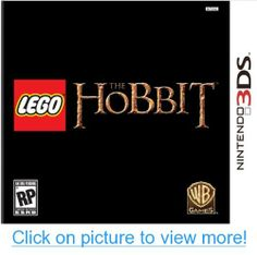 LEGO The Hobbit - Nintendo 3DS Rp Games, Nintendo 3ds Games, The Hobbit, Lego, Books, Libros, Book, Book Illustrations, Legos