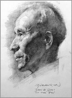 Portrait Drawing pencil https://www.youtube.com/watch?v=B_HM3sCu6uA