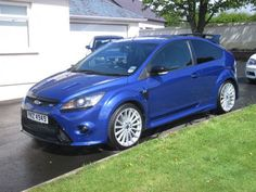 2010 Ford Focus 2.5 RS 3 Door Performance Blue - http://www.fordrscarsforsale.com/1237