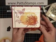 Stampin Up! Video: Technique Reverse Masking, by Patty Bennett