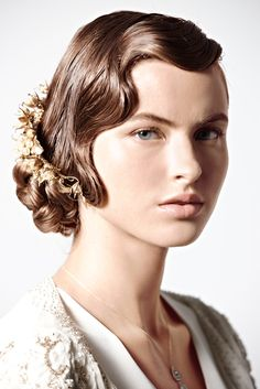 Jazz Age. See our how-to at BHLDN: http://www.bhldn.com/Explore_wedding-day-hair?cm_mmc=Pinterest-_-2011_BHLDN-_-productpage-_-productpage