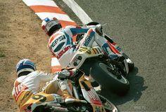 Kevin SCHWANTZ - Pierfrancesco CHILI. 1989 GP JAPON