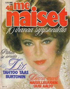 Elizabeth Taylor - MeNaiset Magazine [Finland] (5 October 1982)