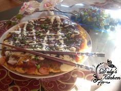 Okonomiyaki -Pizza japonesa
