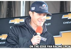 Kasey Kahne on Team Chevy Stage at Martinsville Speedway. March 30th. 2014.