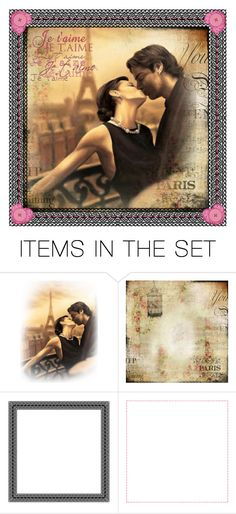 """Honeymoon in Paris Quilt"" by lizzysbibsandbobs ❤ liked on Polyvore featuring art"