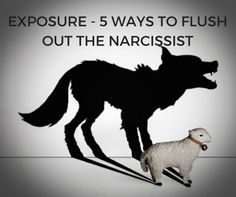 EXPOSURE - 5 WAYS TO EXPOSE THE NARCISSIST