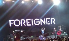 Journey, Foreigner and Styx in one show. Foreigner, at least, were excellent..