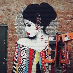 findac is a master!! #johnvedderart #painting #mural #hush #losangeles #hollywood #LA #usa #artist #art #graf #tags #girl #hollyweed #cali #redlips #location #streetart #miami #Detroit #nyc #vandal #london #hushartist Photo Credit: Sally Linsdell  #Regram via @hushartis