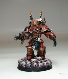 Chaos Brushes: World Eater Terminators complete!