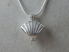 Small Silver Sea Shell Aromatherapy / by Mindesmysticalgarden