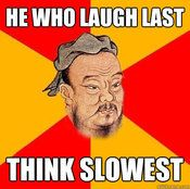 Wise Confucius | Know Your Meme