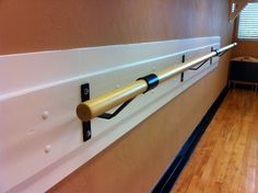 I LOVE having my ballet barre up in my room.  It is so great !  CB