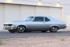 Custom 55 Chevy Pro Street | To Match The Whole Pro Touring Looks Nice Custom '72 Chevy Nova