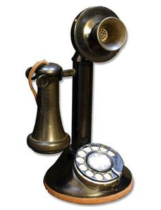 wwwhome phones pictures antiques | ... 21 Candlestick - Telephonearchive.com - Rotary Dial Antique Telephones