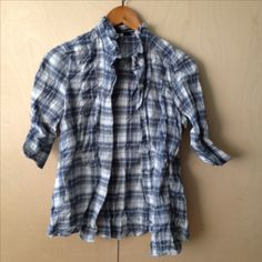 Plaid, Shirts, Tops, Design, Women, Fashion, Gingham, Moda, Women's