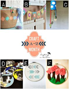 Craft Month Recap an