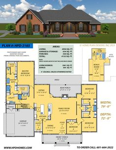 Home Plan Designs www.hpdhomes.com Judson Wallace 601-664-2022