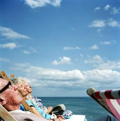 View image only        Martin Parr  G.B. ENGLAND. Brighton. Sunbathing. 1992.