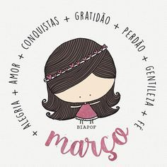 Março | BiaPOF Portuguese Quotes, Peace Love And Understanding, Sweetarts, Happy Wishes, Study Design, Sweetest Day, Doodle Drawings, Quote Posters, Family Love