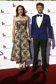 """Crown Prince Frederik and Crown Princess Mary attended  the annual """"reumert prize"""" at the Royal Theatre"""