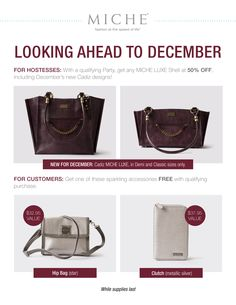 New Miche For December