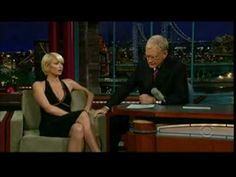 """""""Is that someone you met in jail?"""" Paris Hilton gets owned by Dave Letterman"""