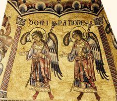 """Mosaïques du Baptistère. La hiérarchie des anges. 12. Les """"dominations"""""""