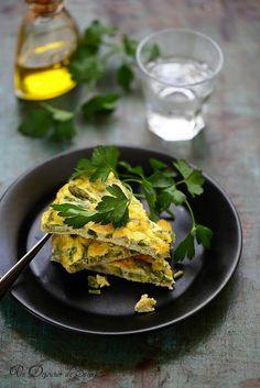 Omelette aux asperges (cuite au four)