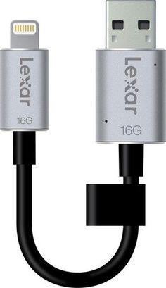 Pen Drive 16GB Lexar JumpDrive USB 3.0 lightning C20i Mobile per disp Apple *BW*