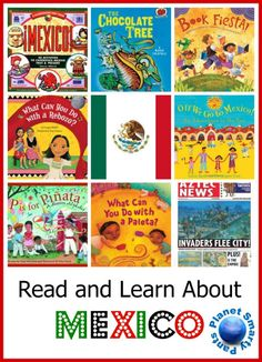 Books and Activities for Elementary School to Learn About Mexico