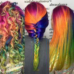 #rainbowdash or #rainbowbrite ? @braneed let me #curl her #unicornhair today for another set of photos! #pravana #pulpriot #joicointensity #redken #embeemeche  products were all used on this #beauty #chesapeakehair #virginiabeachhair #chesapeake #virginiabeach #hothair757  @theunicorntribe @haircutweb @hairdressers.of.insta @rainbow_hair @saloncentric @cosmoprofbeauty @embee.meche  #curlyhair #odu #norfolkhairstylist #norfolk #7cities #757 #dmvhair #virgina #hrva #olaplex #757salon