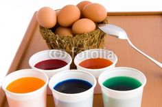 Sold! Stock photo available for sale at Fotolia: Eggs To Color