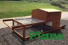 Chicken Tractor PLANS PDF Download by KokoikiNaturalFarm on Etsy, $25.00