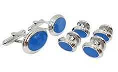 Designer Slate Blue Enamel Cufflink Stud Set by Men's Collections (cs14)  Product ViewSee larger image and other views (with zoom)Product ScreenshotsCheck All OffersAdd to Wish ListCustomer ReviewsFeaturesCoordinating set of four slate blue enamel Smart Studs to accompany http://ecx.images-amazon.com/images/I/41Cn2CMcdyL._SL300_.jpg http://electmejewellery.com/jewelry/mens-jewelry/mens-shirt-studs/designer-slate-blue-enamel-cufflink-stud-set-by-men39s-collections-cs14-com