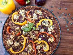 Céklás pizza Vegetable Pizza, Acai Bowl, Vegetables, Breakfast, Food, Acai Berry Bowl, Morning Coffee, Veggies, Vegetable Recipes