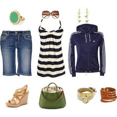 Summer time, created by kate-gill on Polyvore