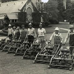 """1924: Toro introduces its first power mower, the 30"""" Park Special walk behind reel mower. The Park Special was the most successful early large commercial-grade walk mower. Known as America's favorite heavy-duty, Toro sold the Park Special for three decades."""