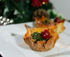 """Xmas in August....""""Santa Sacks"""" filled with steak and a cranberry chimichurri sauce  www.whatscookingwithdoc.com  jefenster"""