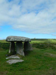 Lanyon Quoit near Morvah,  Cornwall.