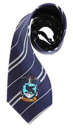 A grand wizard you will be in the Harry Potter Ravenclaw Costume Necktie.