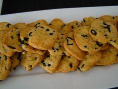 Cookies salées aux olives